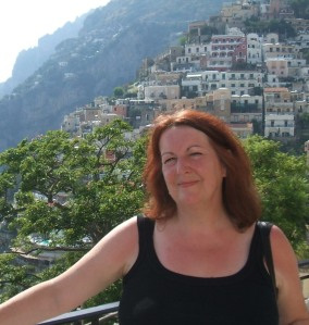 Val Culley in Positano