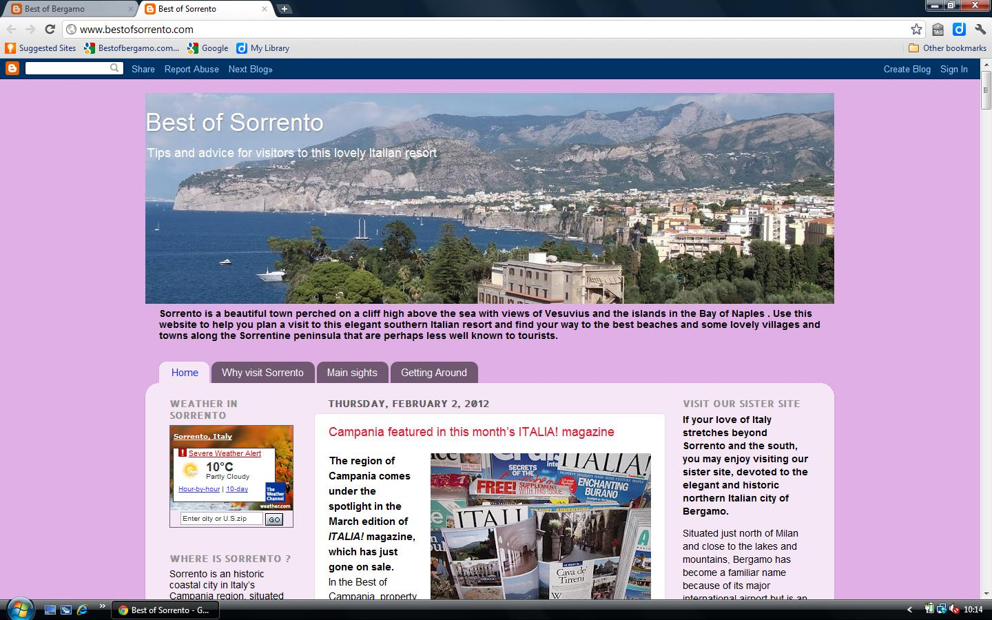 Best of Sorrento screenshot