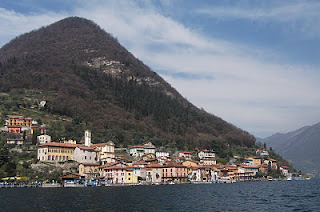 Peschiera Maraglio at the foot of Monte Isola