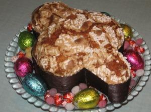 La Colomba - traditional Italian Easter cake