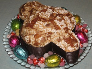 La Colomba - traditional Italian Easter cake